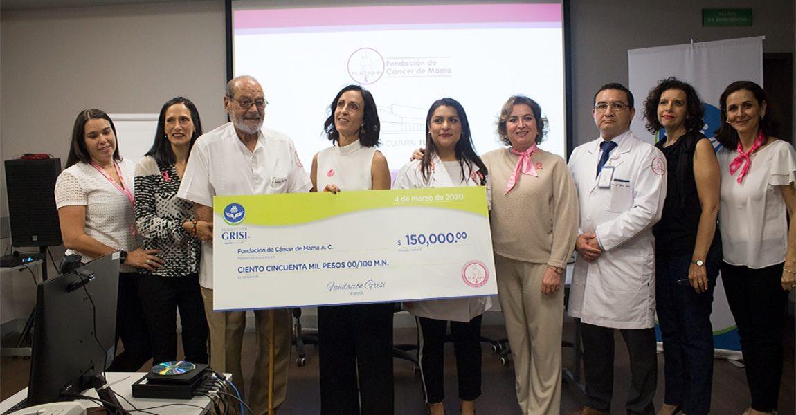 ¡Fundación GRISI se suma a FUCAM por  la salud de las mujeres mexicanas!